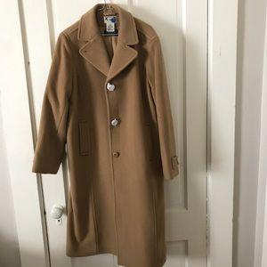LL Bean Classic Lambswool Polo Coat